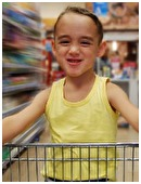 It's time to drag your kindergartener to the grocery store, and you can already hear him whining.  Fear not! These ideas can make shopping educational and fun.