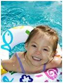 While the pool or beach can be buckets of fun, you should review some simple water safety rules with your child before going swimming.