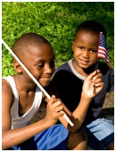 Here are some tips for teaching your child about the Star Spangled Banner.