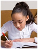 Teacher can easily distinguish the students who read and write at home from those who spend the bulk of their downtime in front of a television or computer screen.