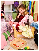 Can clutter affect a child's reading development? A new study shows that the level of âchaosâ in an early reader's home can affect their reading progress.