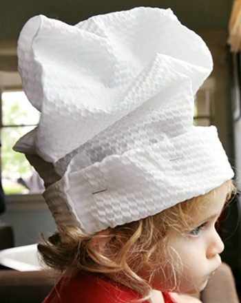 Preschool Arts & crafts Activities: Chef Hat