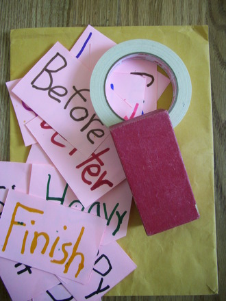 Second Grade Reading & Writing Activities: Hop On Those Spelling Words!