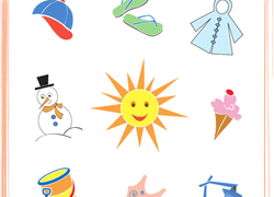 Picture Spelling Worksheets Word Weather  Seasons Worksheets And Printables  Educationcom 6th Grade Math Worksheets Decimals with Free Money Counting Worksheets Worksheet Circle What Belongs Sunny Day The Age Of Exploration Worksheets Word
