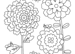 Flower Garden Worksheet Education Com