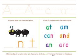 Worksheets Early Reading Worksheets preschool reading worksheets free printables education com worksheet beginning all about the letter a