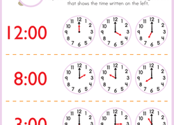 kindergarten time worksheets  free printables  educationcom kindergarten math worksheet telling time with melissa mouse
