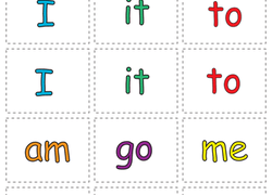 graphic regarding Printable Sight Words for Kindergarten referred to as Activity Video game: Sight Phrase Memory Video game Worksheet