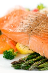 Feed the Brain with this Simple Salmon Supper