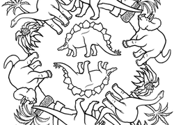 Dinosaurs Coloring Pages & Printables | Education.com
