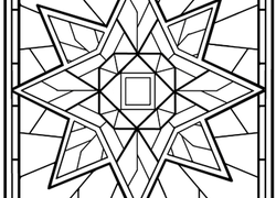 star mandala worksheet this mandala coloring page - Coloring Page 2nd Grade