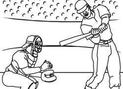 Baseball Coloring Pages Printables Educationcom