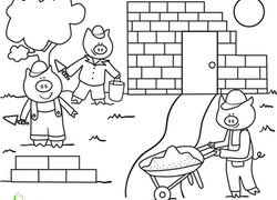 Preschool Fairy Tales Coloring Pages & Printables Page 2 ...