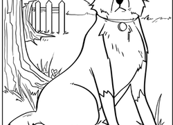 Dog Coloring Pages & Printables | Education.com