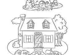 About Me: My House | Worksheet | Education.com