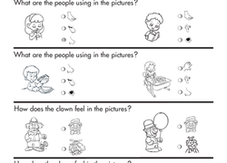 kindergarten worksheets  free printables  educationcom worksheet senses and feelings