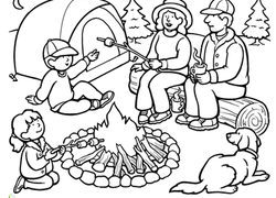 1st Grade Places Coloring Pages & Printables | Education.com
