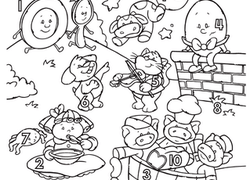 Fairy Tales Coloring Pages & Printables | Education.com