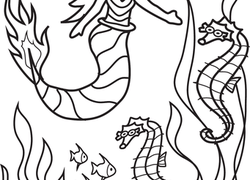 Color The Marvelous Mermaid 2