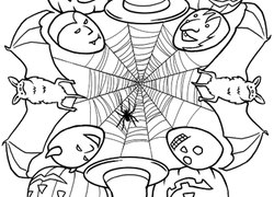 halloween mandala worksheet this mandala coloring sheet - Mandala Coloring Pages For Kids