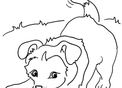 Puppy Coloring Pages & Printables | Education.com