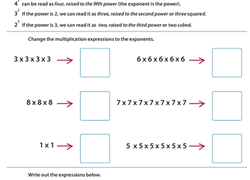 Class 7 Important Questions for Maths - Exponents and Powers ...