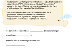 Worksheet Third Grade Government Worksheets Free 3rd grade civics government worksheets free printables social studies worksheet learn about the u s constitution