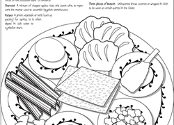 worksheets & free printables | education.com - Passover Coloring Pages Printable