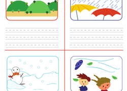 Weather Seasons Worksheets And Printables Education Com