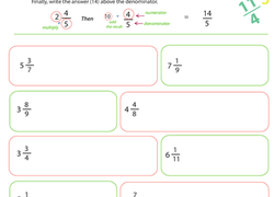 Mixed numbers and improper fractions worksheets education worksheet introduction to improper fractions 4 ibookread ePUb