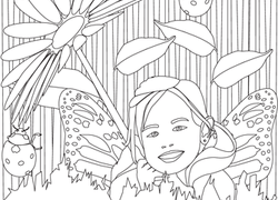 Color The Daisy Fairy