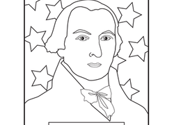 color a us president james madison