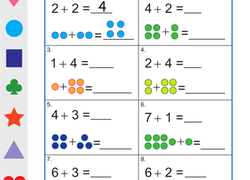 1st Grade Addition Worksheets Free Printables Page 3 Education Com