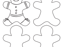 Gingerbread Man Coloring Pages Amp Printables