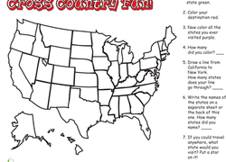 Nd Grade Geography Worksheets Free Printables Educationcom - Blank us map with geographical features