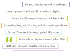Quotation Marks: Say What? | Worksheet | Education.com