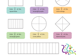 photo relating to Printable Fraction Games for 3rd Grade named 3rd Quality Fractions Worksheets Totally free Printables