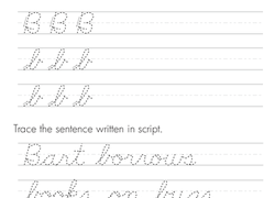 3rd Grade Handwriting Worksheets Free Printables Educationcom