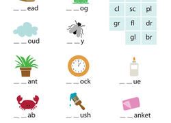 Phonics Worksheets & Free Printables | Education.com