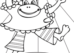 Monkey Coloring Pages & Printables | Education.com