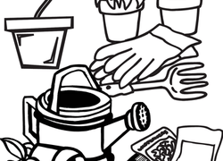 Garden Coloring Pages – coloring.rocks! | 180x250