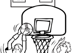 Basketball Coloring Pages Printables Education Com