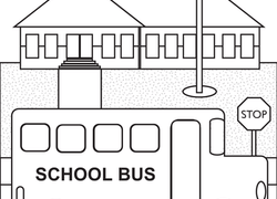 Color The School Bus
