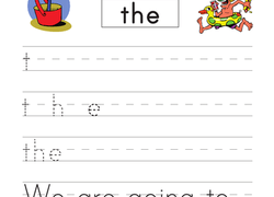 Kindergarten Sight Words Worksheets & Free Printables ...