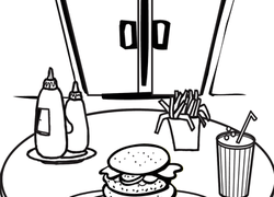 Food Coloring Pages & Printables | Education.com