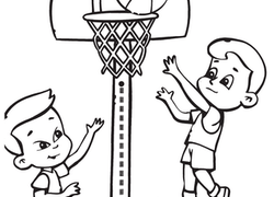 Sports Coloring Pages Printables Education Com