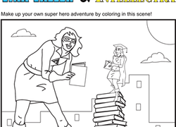 Superhero Coloring Pages amp Printables