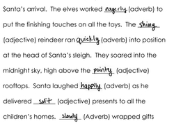 complete the christmas story activity educationcom