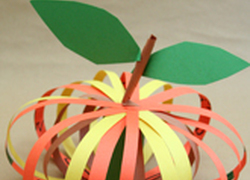 Kindergarten Holidays Activities: Paper Pumpkin