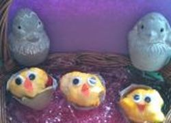 Second Grade Holidays & Seasons Activities: Easter Chicks Craft